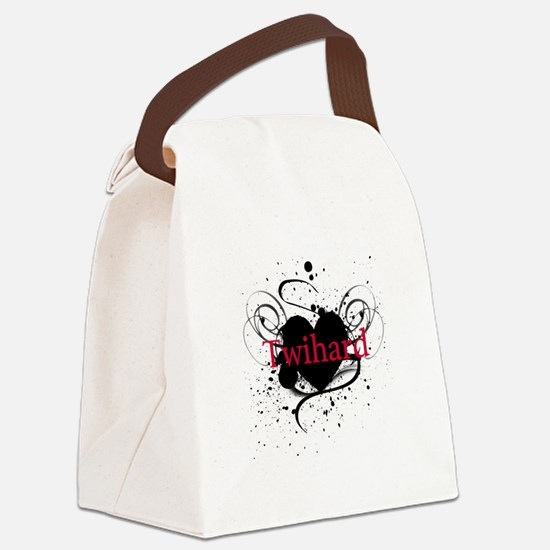 twihard4.png Canvas Lunch Bag