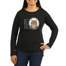 Annoying Cat Long Sleeve T-Shirt