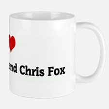 I Love My irish boyfirend Chr Mug