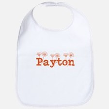 Orange Personalized Name Bib