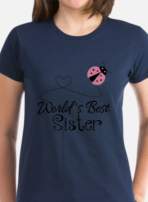 Worlds Best Sister Tee