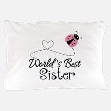 Worlds Best Sister Pillow Case