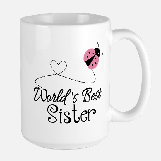 Worlds Best Sister Large Mug
