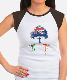 Australia Irish Roots Women's Cap Sleeve T-Shirt