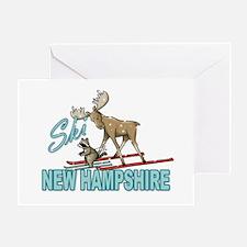 Ski New Hampshire Greeting Card