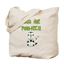 Cats Are Purr-fect Tote Bag