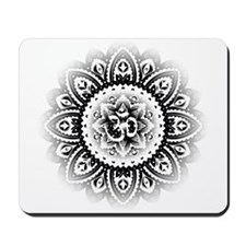 Ohm in Mandala Indian Henna Design Mousepad