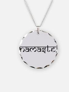 Namaste, Yoga Necklace