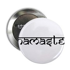 "Namaste, Yoga 2.25"" Button (10 pack)"