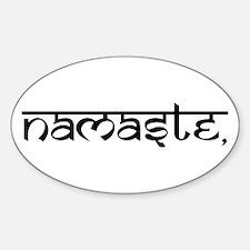 Namaste, Yoga Decal