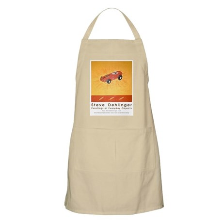 BBQ Apron with Dehlinger's slotcar art