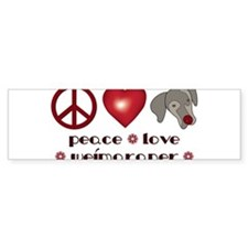 peace1.png Bumper Bumper Sticker