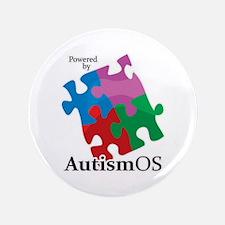"""Autism OS 3.5"""" Button"""