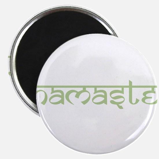 """Namaste, Yoga 2.25"""" Magnet (10 pack)"""