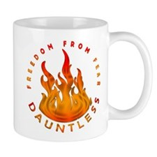Divergent Dauntless Freedom From Fear Mug