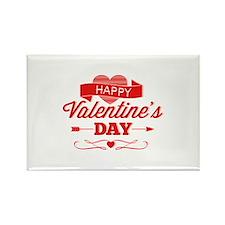 Happy Valentine's Day Rectangle Magnet