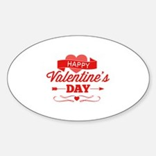 Happy Valentine's Day Decal