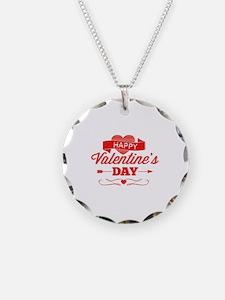 Happy Valentine's Day Necklace