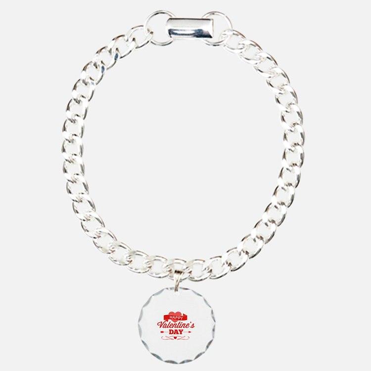Happy Valentine's Day Bracelet
