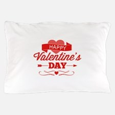Happy Valentine's Day Pillow Case