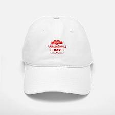 Happy Valentine's Day Baseball Baseball Cap
