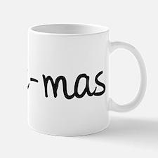 X Mas Formula Mugs