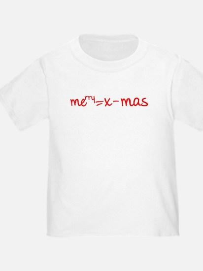 Merry X Mas T-Shirt