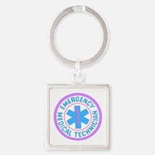 EMT Logo Pastel Keychains