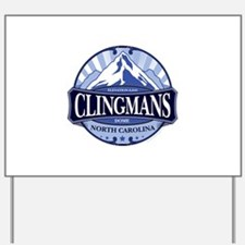 Clingmans Dome North Carolina Tennessee Yard Sign