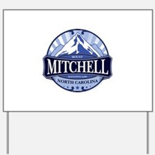 Mount Mitchell North Carolina Yard Sign