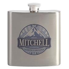 Mount Mitchell North Carolina Flask