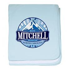 Mount Mitchell North Carolina baby blanket