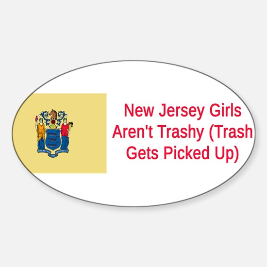 New Jersey Humor #1 Decal