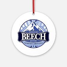 Beech Mountain North Carolina Ornament (Round)