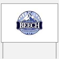 Beech Mountain North Carolina Yard Sign