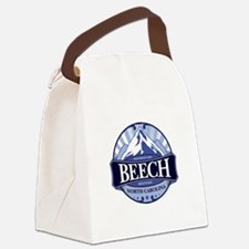 Beech Mountain North Carolina Canvas Lunch Bag