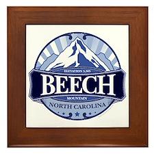 Beech Mountain North Carolina Framed Tile