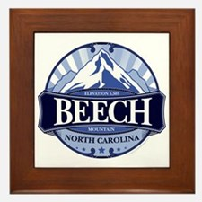 Beech Mountain North Carolina Framed Tile