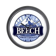 Beech Mountain North Carolina Wall Clock