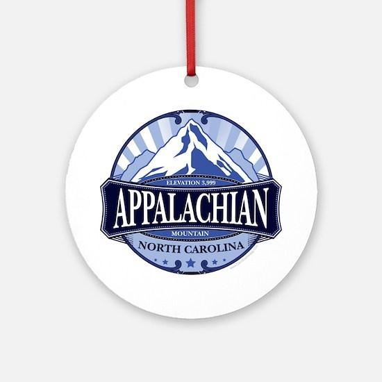Appalachian Mountain North Carolina Ornament (Roun
