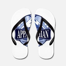 Appalachian Mountain North Carolina Flip Flops