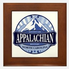 Appalachian Mountain North Carolina Framed Tile