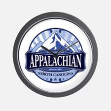 Appalachian Mountain North Carolina Wall Clock