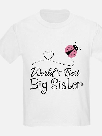 Worlds Best Big Sister T-Shirt