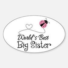 Worlds Best Big Sister Decal