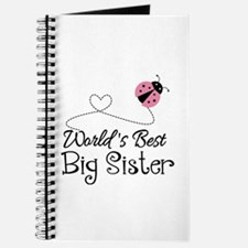 Worlds Best Big Sister Journal