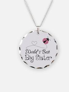 Worlds Best Big Sister Necklace