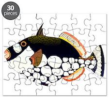 Clown Triggerfish Puzzle
