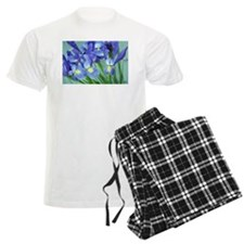 Spring Purple Irises Photo Pajamas