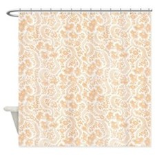 tan and peach shower curtains tan and peach fabric